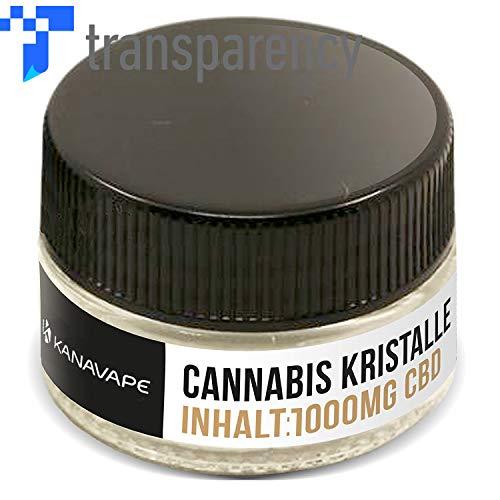 Harmony® CBD Cannabidiol Cannabis Kristalle 1000mg - 99,9% pur kristallin (nikotinfrei)