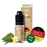 Premium activeCBD Liquid Vanille & Matcha Grüner Tee von Breathe Organics | CBD Liquid 100mg mit der neuen activeCBD Technologie| Menge 10 ml | nikotinfrei | Made in Germany