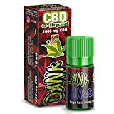 Vollspektrum CBD E-Liquid Amnesia 10ml, 1000mg CBD | 60VG / 40 PG | Enthält Cannabidiol kann gegen Schmerzen, Entzündung & Stress helfen - Vape Liquid ohne Nikotin