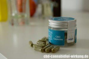 CBD Kapseln (Capsules) von Malantis