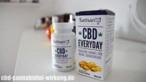 Satisan - CBD Everyday Kapseln von DM